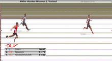 2. Vorlauf - 400m Hürden