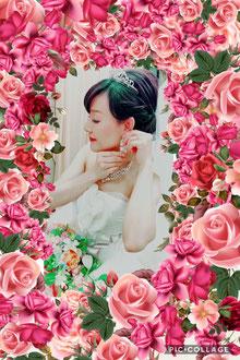 お顔出しOKして下ったKさん。結婚式へ参列し岩野大泣きでした