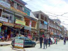 www.ratnavoyages.com, Leh, Ladakh, Main Market, India, Trekking, Kalachakra, Marathon, Dalai Lama
