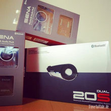 Sena 20S Bluetooth Headset und GP 10 Audio Pack