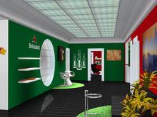 Heineken Hauptsitz Luzern Innenausbau 2009