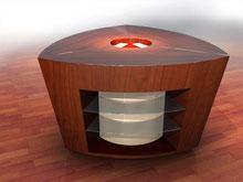 Möbeldesign Showroom Theken 2010