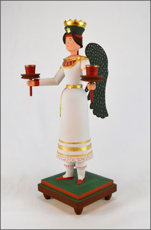 Engel Anna, Großer Lichterträger, Tradition, Erzgebirge, Volkskunst, Lange Schicht, traditionelle