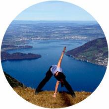 Yoga in Sempach, Luzern und Bern. Psychosomatische Beratung.
