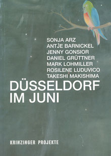 Buch: Duesseldorf im Juni (Artists from Dusseldorf - Book).
