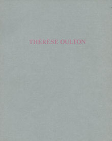 Therese Oulton Buch (Book).