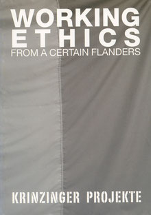 Katalog: Working Ethics. Contemporary Art from Flanders (Catalogue).