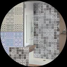Dusch-Rückwände in allen Stilrichtungen von WPS Wellness