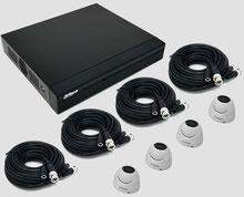 HDCVI, 2MP, FullHD, Videoüberwachungsset, Mini Dome, Außenkamera, DVR, Digitalvideorekorder, Dahua, günstig, über SafeTech lieferbar