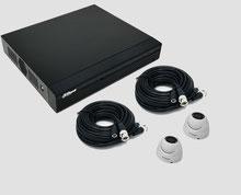 HDCVI, 2MP, FullHD, Videoüberwachungsset, Außenkamera, Mini Dome, DVR, Digitaler Videorekorder, Dahua, günstig, über SafeTech lieferbar