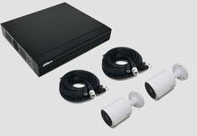HDCVI, Videoüberwachungsset, 2MP, FullHD, Bullet, Außenkamera, DVR, Digitaler Videorekorder, Dahua, günstig, über SafeTech lieferbar