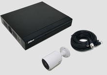 HDCVI, Videoüberwachungsset, 2MP, FullHD, Bullet, Außenkamera, DVR, Digitalvideorekorder, Dahua, günstig, über SafeTech lieferbar