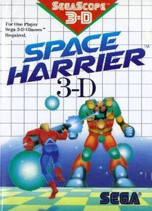 Space Harrier 3d, sólo podía ser para Master System