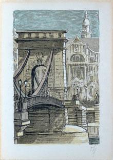 Nr.2636 Kettenbrücke in Budapest