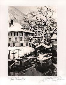 Nr. 1183 Entenstägli, Interlaken Anno 1936