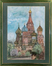 Nr. 2682 Basilius-Kathedrale, Moskau