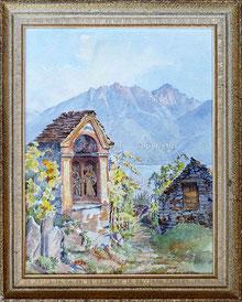 Nr. 3498  Wegkapelle im Rebberg