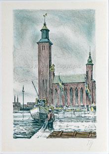 Nr.2634  Rathaus von Stockholm