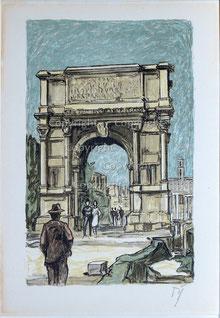 Nr.2635 Titus-Bogen in Rom