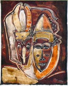 Nr.2035   Afrikanische Masken