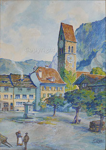 Stadthausplatz Unterseen