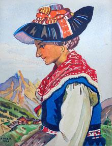 Nr.972 Trachtenfrau