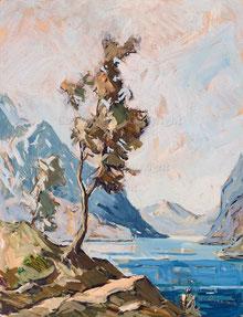 Nr. 2744 Bergsee-Landschaft