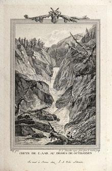 Nr.3554 Chute de L'Aar Gutdannen (Guttannen)