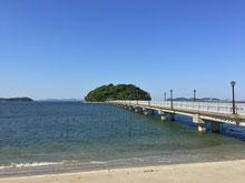 岸からの竹島
