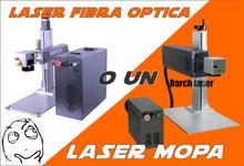 Laser MOPA para grabado de metales