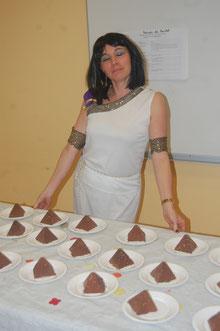 Cleopâtre et ses pyramides