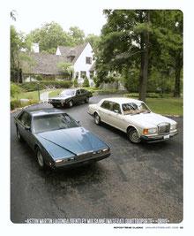 Motor Trend Classic 2/2006 1984 Lagonda drive