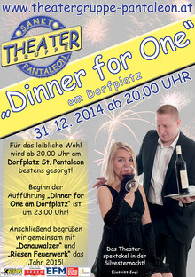 2014 Plakat Theatergruppe St. Pantaleon