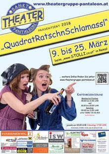 2018 Plakat Theatergruppe St. Pantaleon