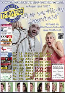 2015 Plakat Theatergruppe St. Pantaleon