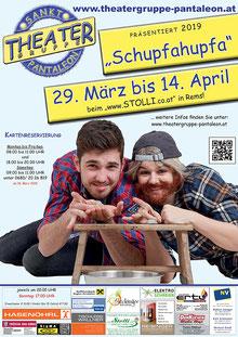 2019 Plakat Theatergruppe St. Pantaleon