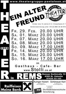 2008 Plakat Theatergruppe St. Pantaleon