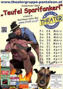 2017 Plakat Theatergruppe St. Pantaleon
