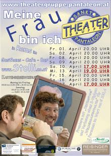 2011 Plakat Theatergruppe St. Pantaleon