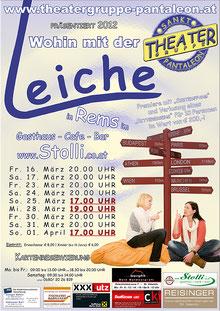 2012 Plakat Theatergruppe St. Pantaleon