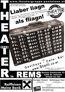 2009 Plakat Theatergruppe St. Pantaleon