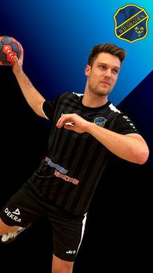 Pascal Henkelmann HSG VfR/Eintracht Wiesbaden Oberliga Handball