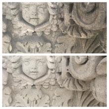 nettoyage par hydrogommage de la pierre et façades
