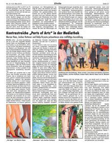 zeitungsartikel-Medienberichte-Marion-Haas-Dalip-Kryeziu-Bildende-Kunst-bildende-Künstler-extravagante-Ausstellung-Hessen-Rheingau-Kunst-kaufen-mieten-Malereien-Acrylmalerei-Skulpturen-Holz-Mund-Lips-gemalt-