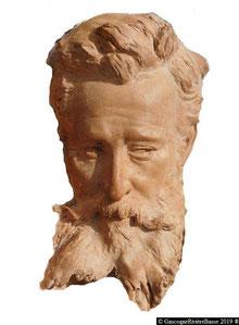 Plaisance Artiste peintre Alexandre Magenc (buste)