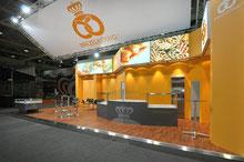 Backstube im Messestandbau, Nahrungsmittel, Brezel, Bäcker, Beck, Standbau, Gastronomie, Hotellerie, Lebensmittel
