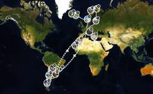 Unsere Route: unterwegs seit Mai 2018