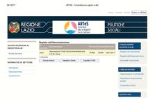 Iscrizione Registro Associazionismo Regione Lazio n.2054 del 20.01.2017