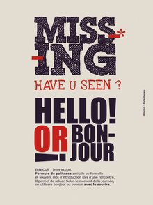 tableau graphique missing hello