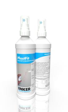 Plastfit_Linker Chemie-Group, Reinigungschemie, Reinigungsmittel, Glasreiniger, Fensterputzmittel, Fensterreiniger, Kunststoffreiniger